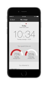 ReSound Relief iPhone 6 Tinnitus TS my usage app apple