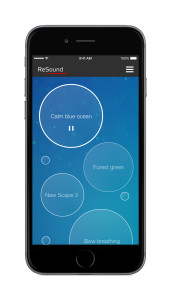 ReSound Relief iPhone 6 Sound Scapes Tinnitus TS app apple